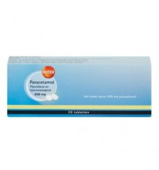 ROTER PARACETAMOL 500MG 50 TABLETTEN (GM) (prnr)
