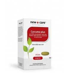 NEW CARE CURCUMA PLUS 45 TABLETTEN ZWARTE PEPER