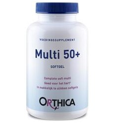 ORTHICA MULTI 50+ 60 SOFTGELS