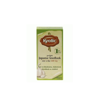 KYOLIC JAPANSE KNOFLOOK ONE A DAY 100 TABLETTEN GEFERMENTEERD