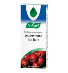 VOGEL CRATAEGUS COMPLEX 80 TABLETTEN (VS) (prnr)