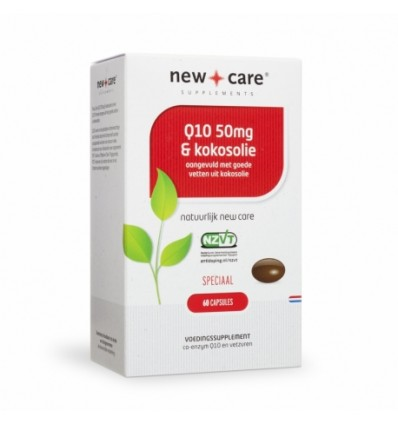NEW CARE Q10 50 MG & KOKOSOLIE 150 CAPSULES